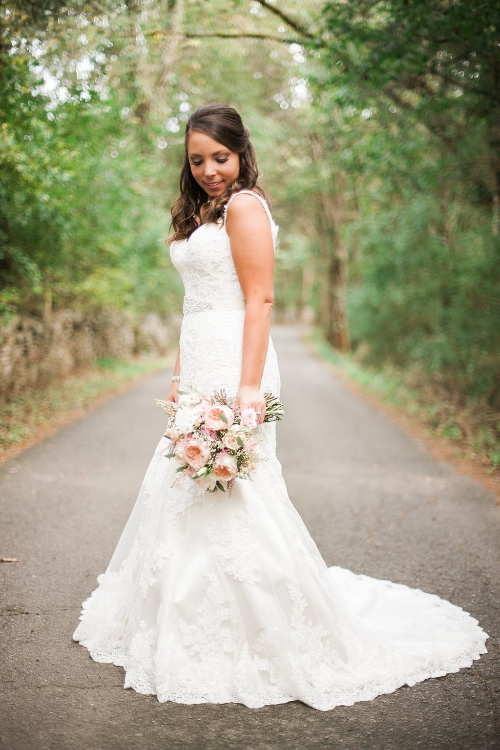 Country Lane Bridal Portrait // Nashville Wedding Florist