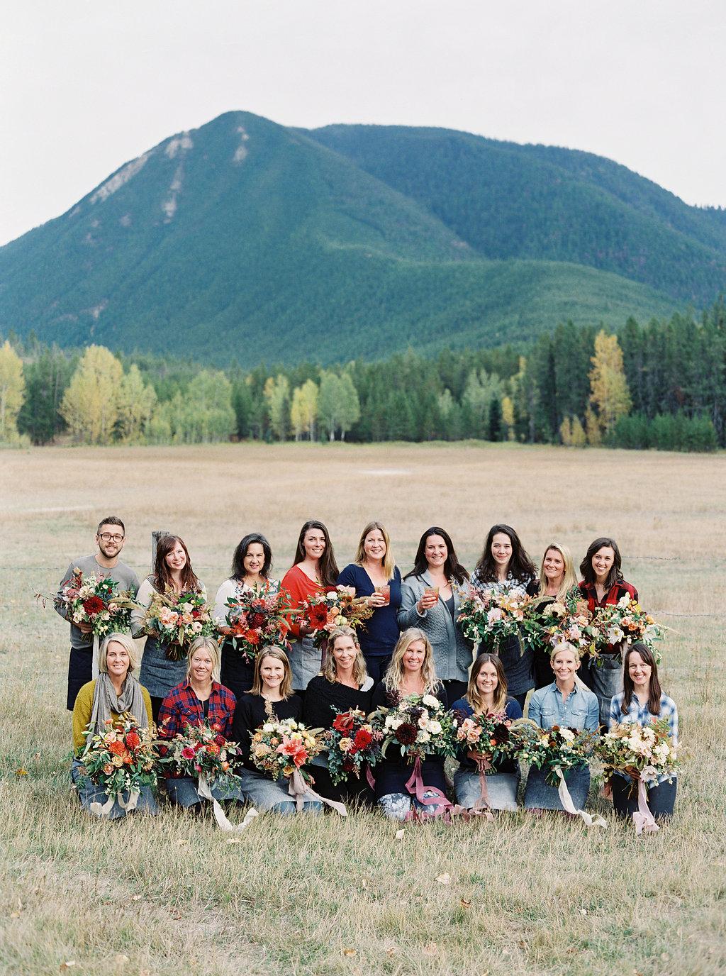 Flower Friends in Montana