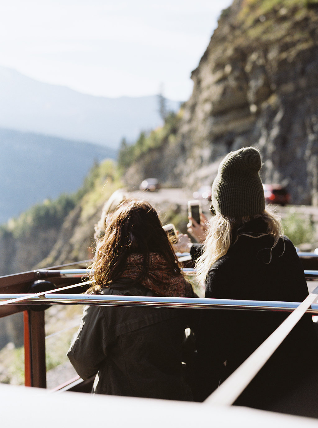 Jammer Ride through Glacier National Park