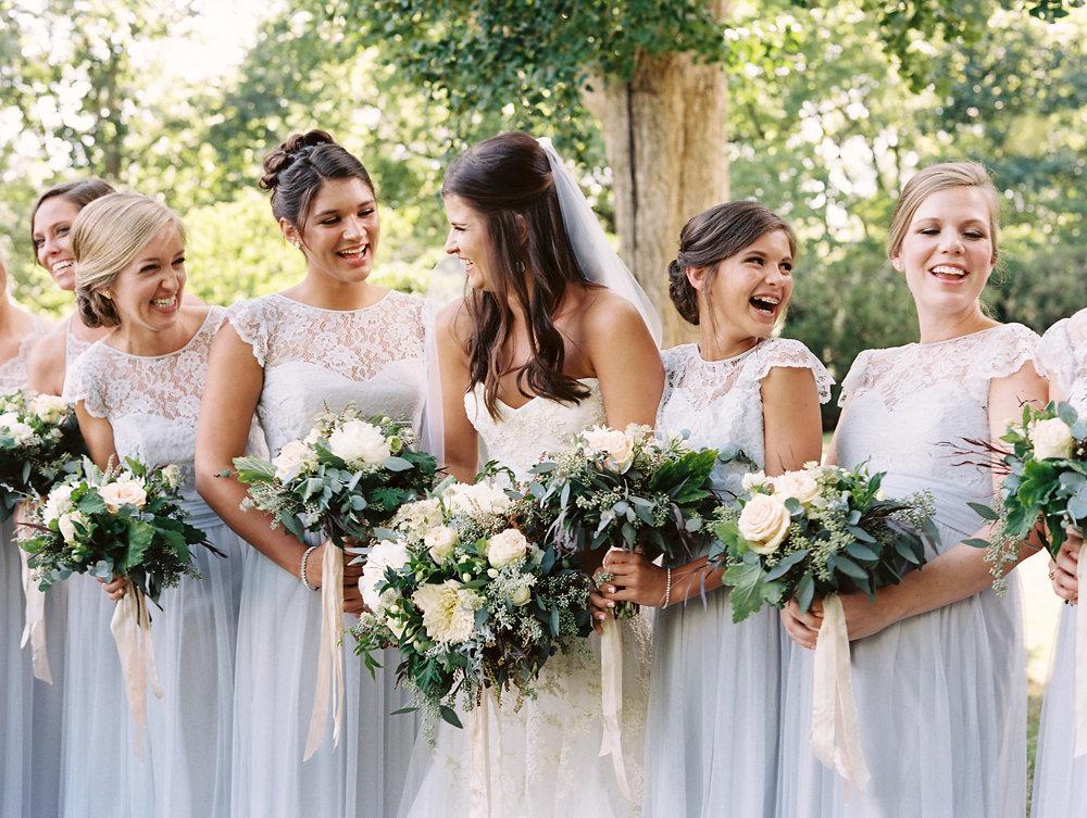 Loose, untamed greenery bouquets // Destination Botanic Garden Wedding Florist