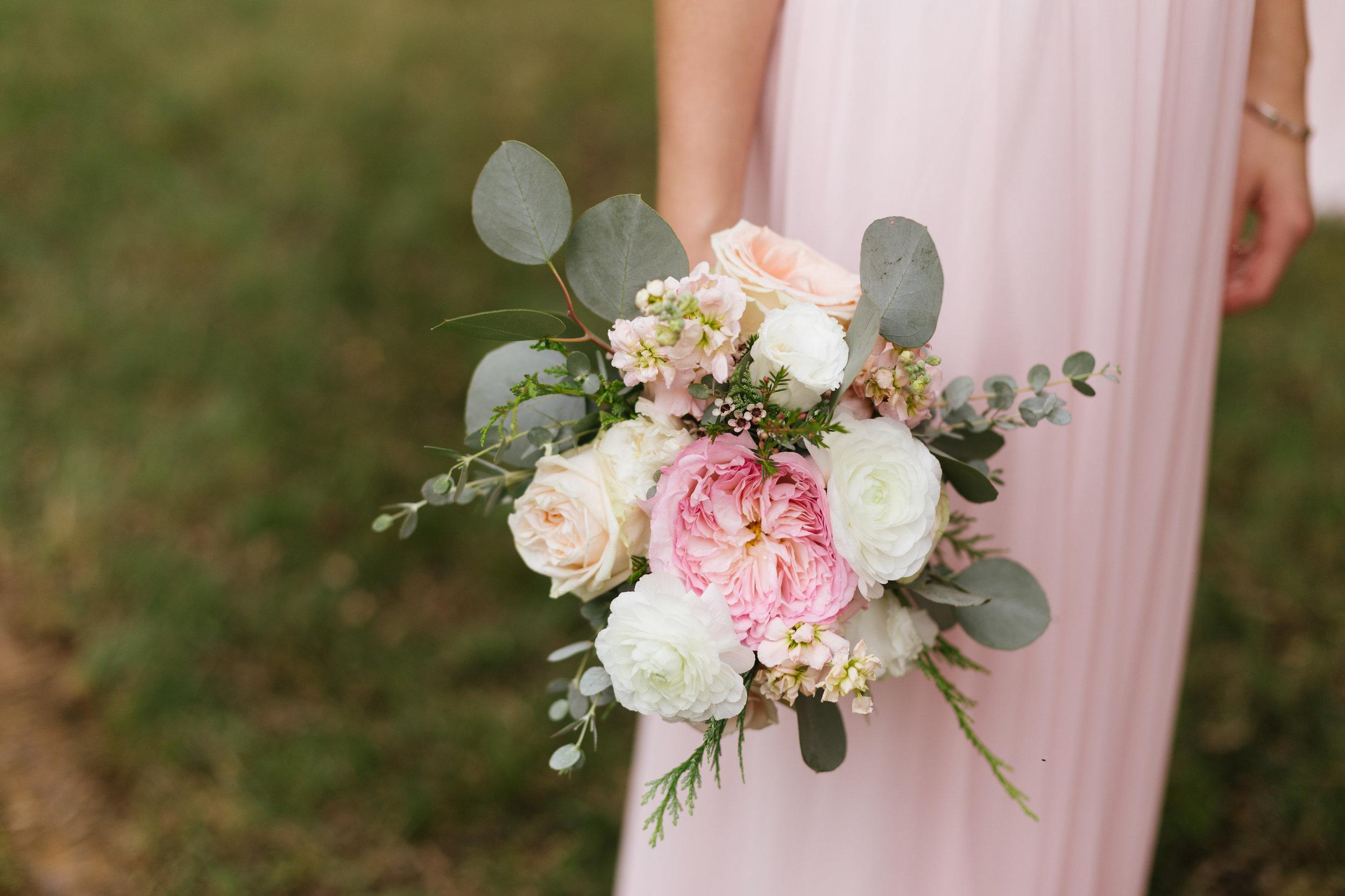 Keira Garden Rose // Organic Floral Design for Nashville Wedding