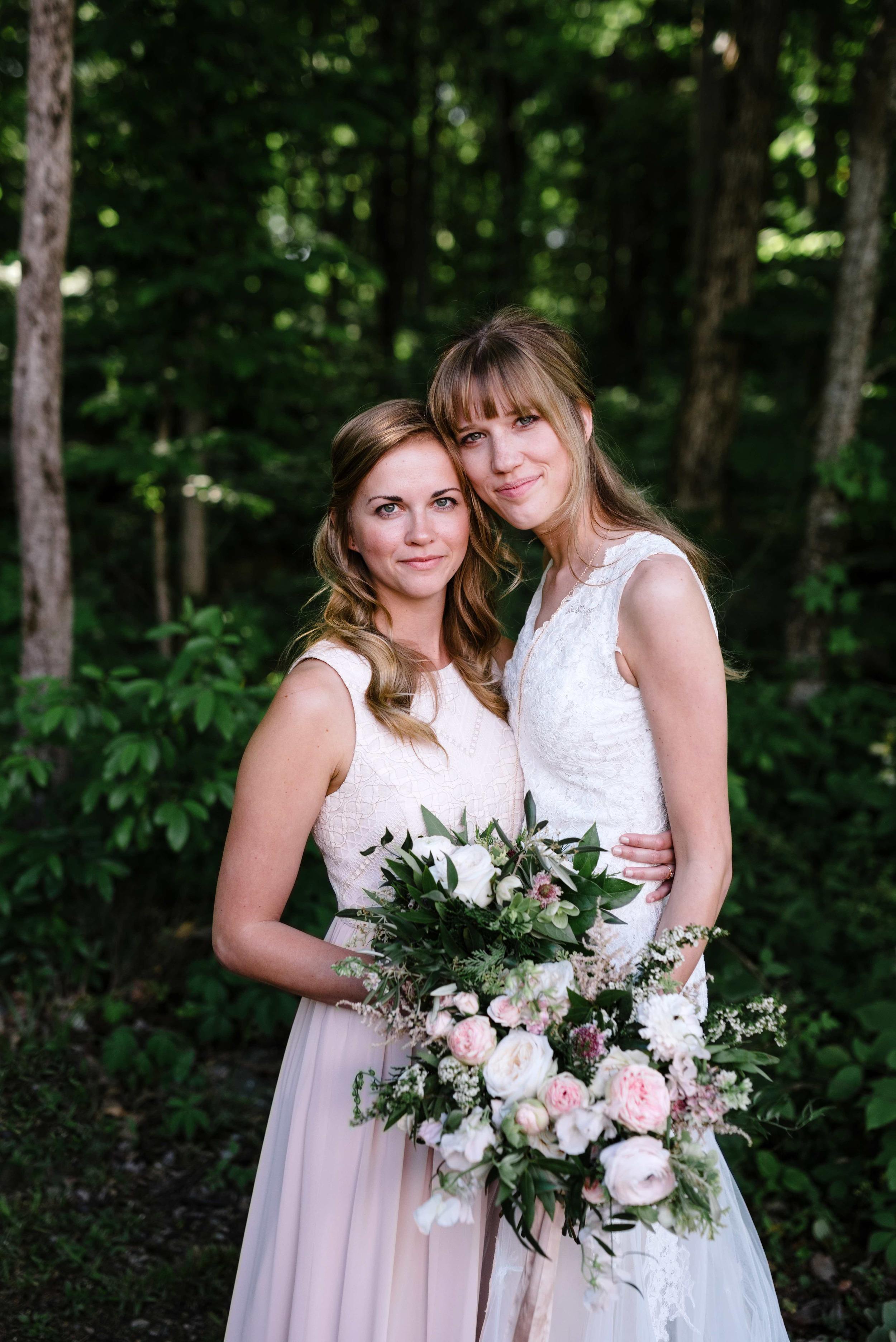 Blush and neutral wedding flowers // Nashville Floral Design