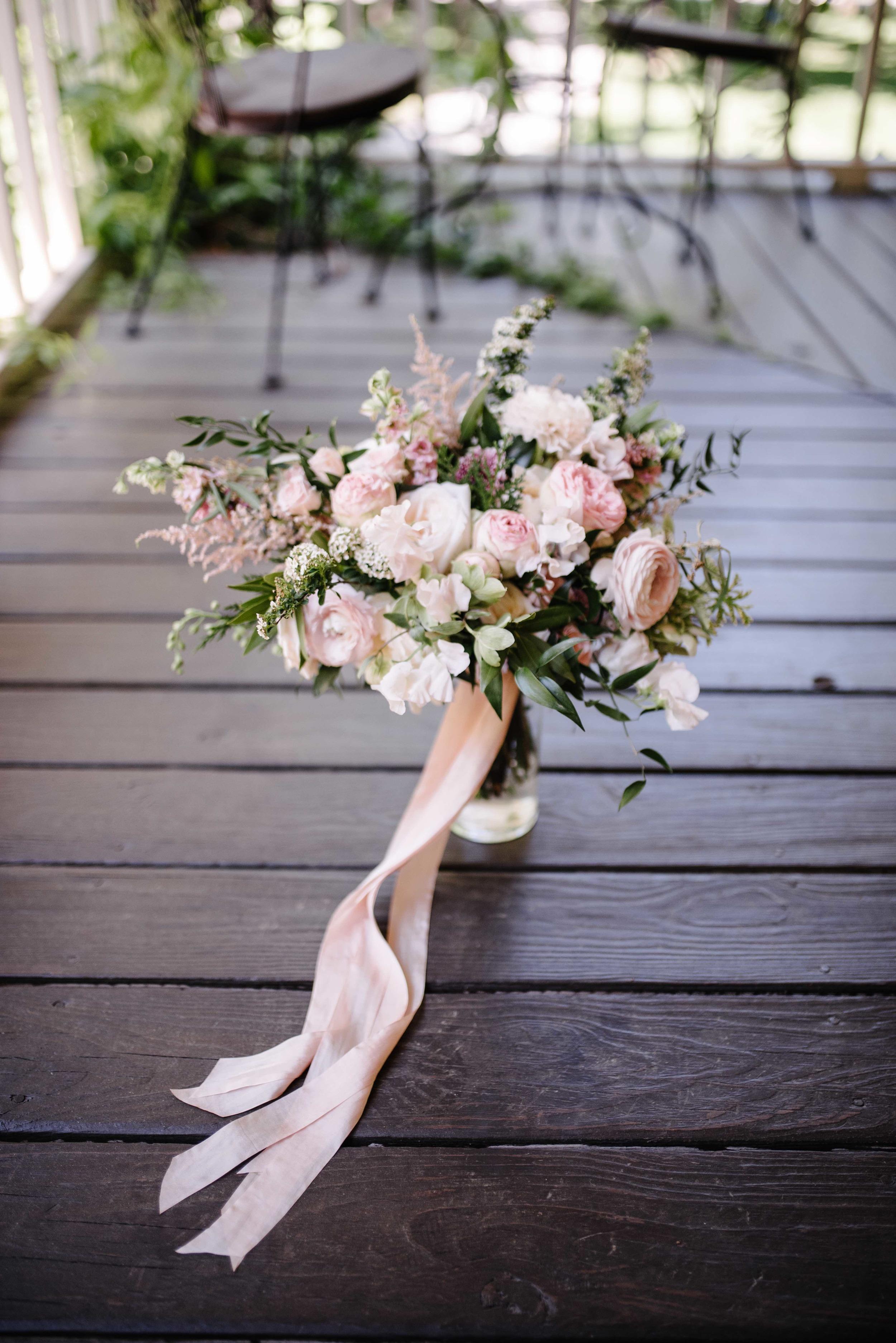 Spring Bridal Bouquet // Nashville Floral Design