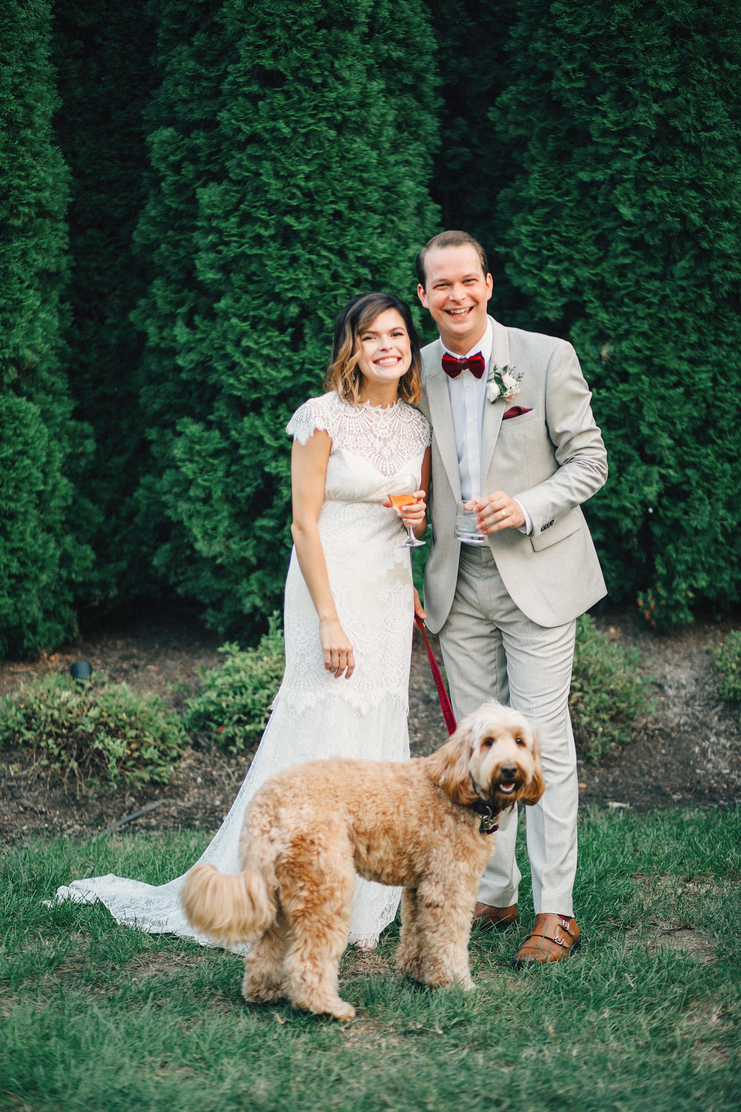 Dog Ring Bearer // Nashville Wedding Florist
