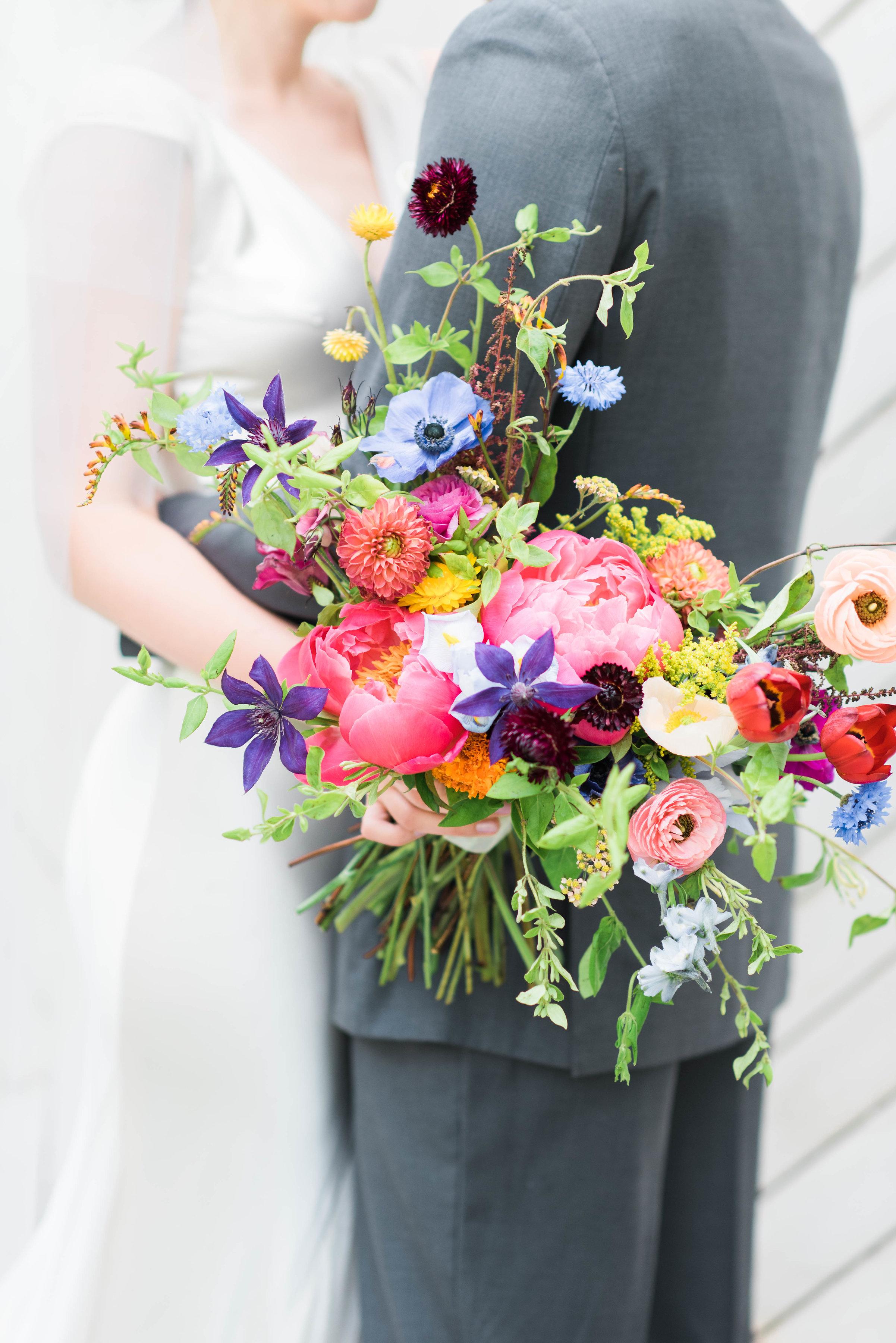 Bailey Kevin Chagall Inspired Summer Wedding Rosemary Finch