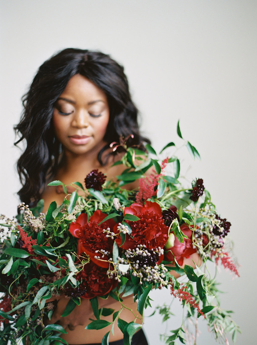 Dressed in Flowers // Editorial Floral Design Shoot in Nashville