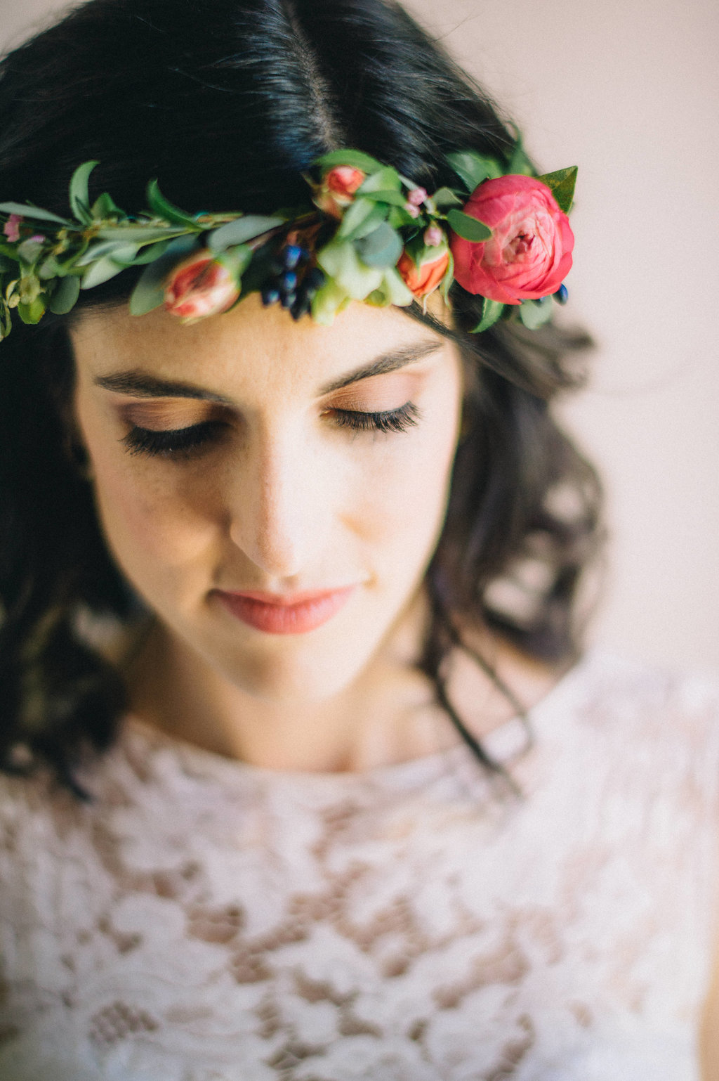 Brightly Colored Flower Crown // Nashville Wedding Florist.jpg