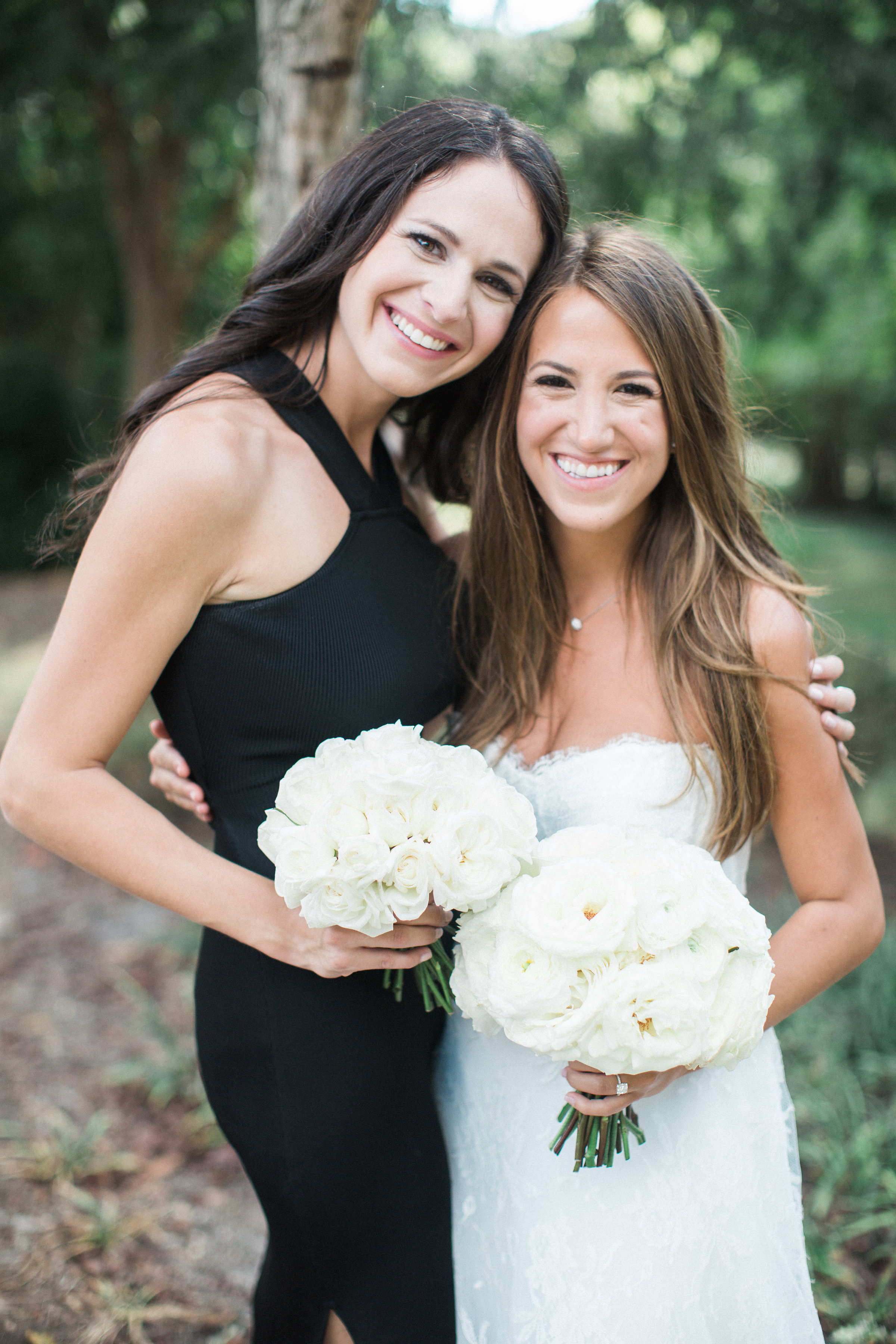 Simple white bouquets // Blackberry Farm Wedding Floral Design
