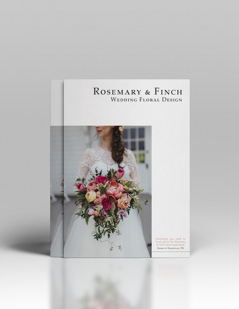 Rosemary & Finch Magazine // Nashville Wedding Florist Information