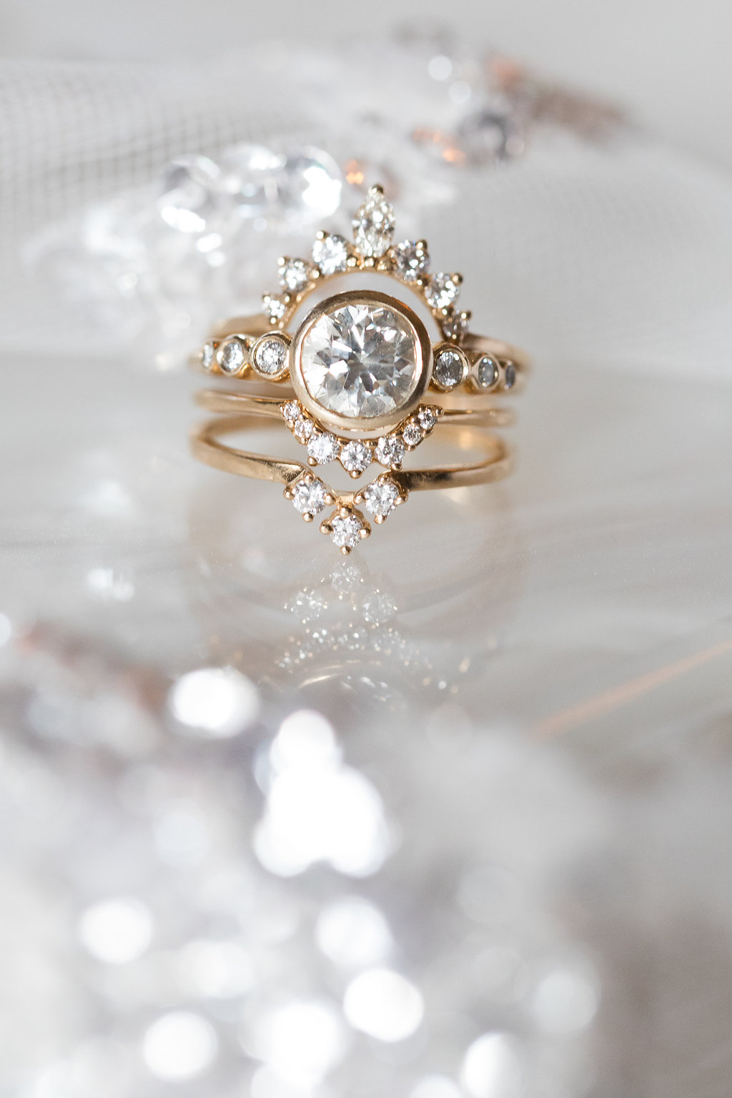 Vintage Diamond Rings // Blackberry Farm // Nashville + Tennessee Wedding Floral Design