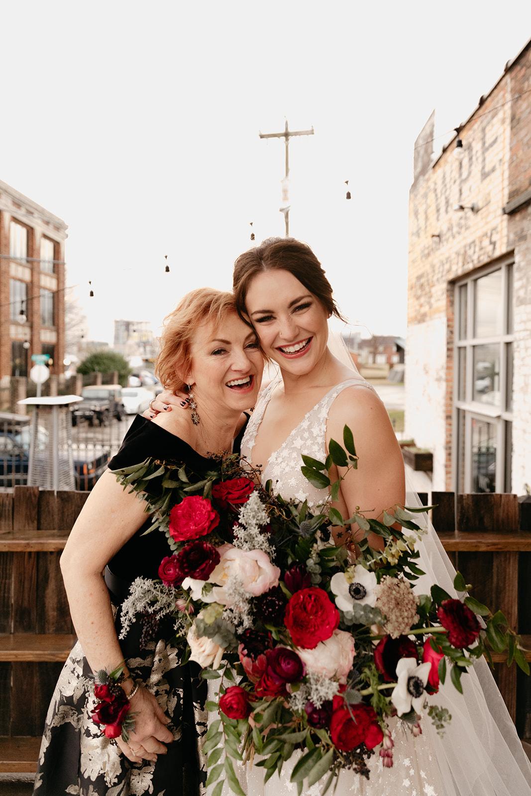 Sweet mother of the bride! Nashville Wedding Floral Design.