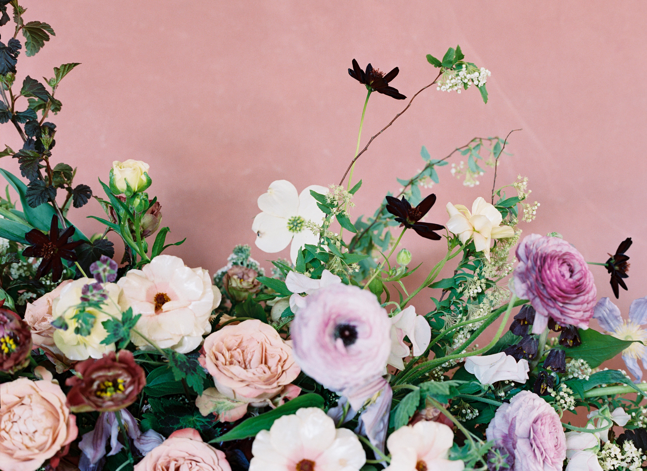 April wedding flowers inspiration. Nashville florist.