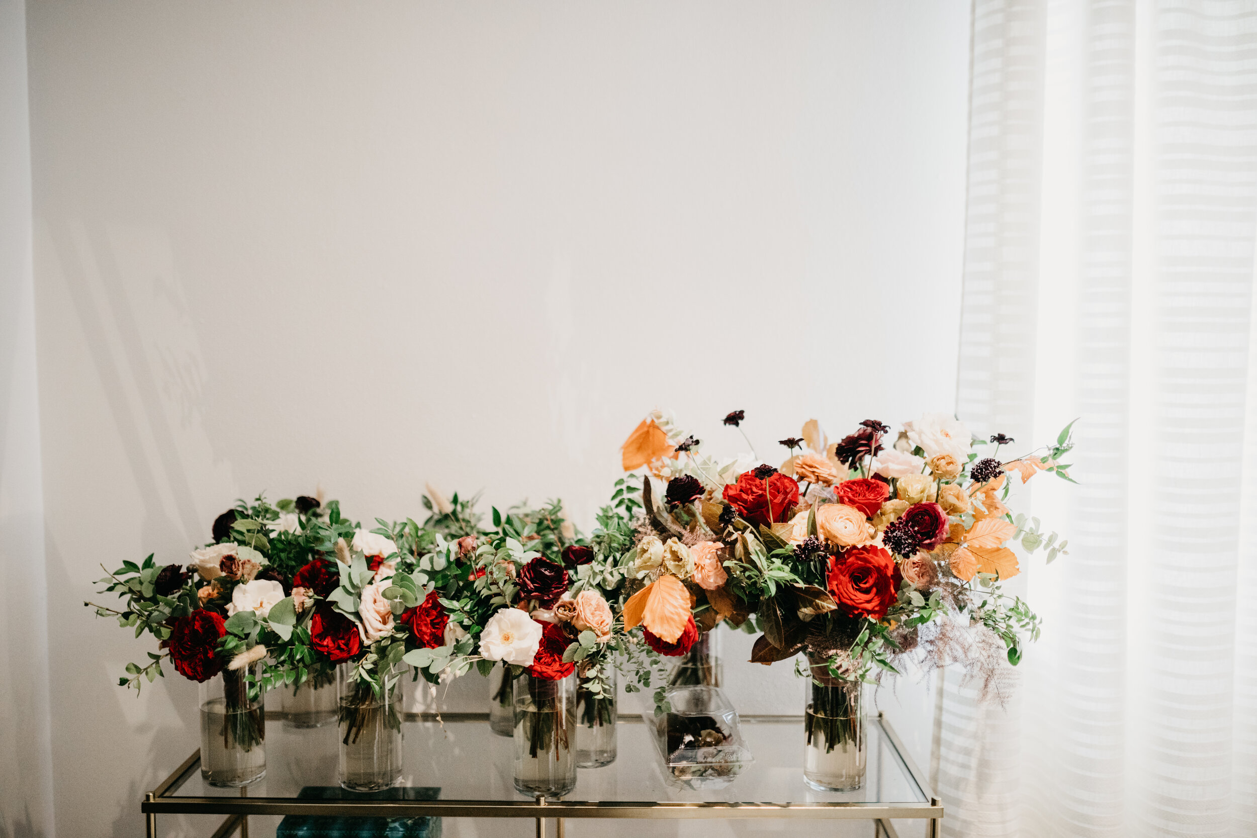Jess Scott Lush Fall Wedding Floral Design At Clementine In Nashville Tn Rosemary Finch Floral Design Nashville Tn