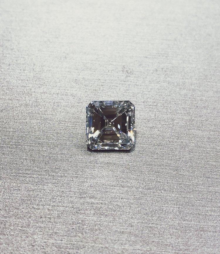 4-Carat Asscher Cut Diamond