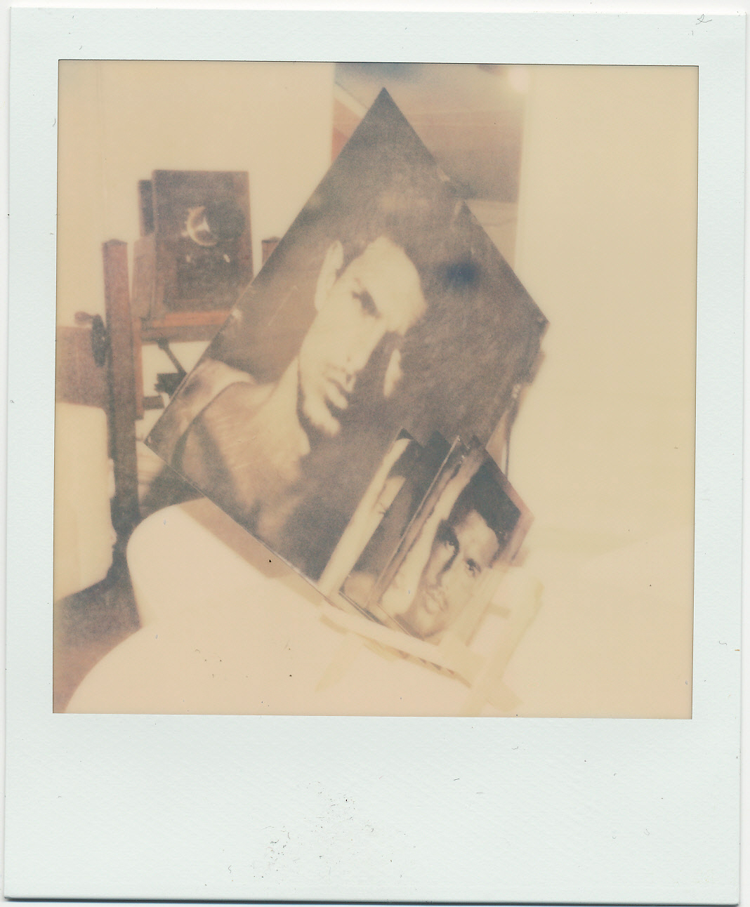 A polaroid of some of the days plates....