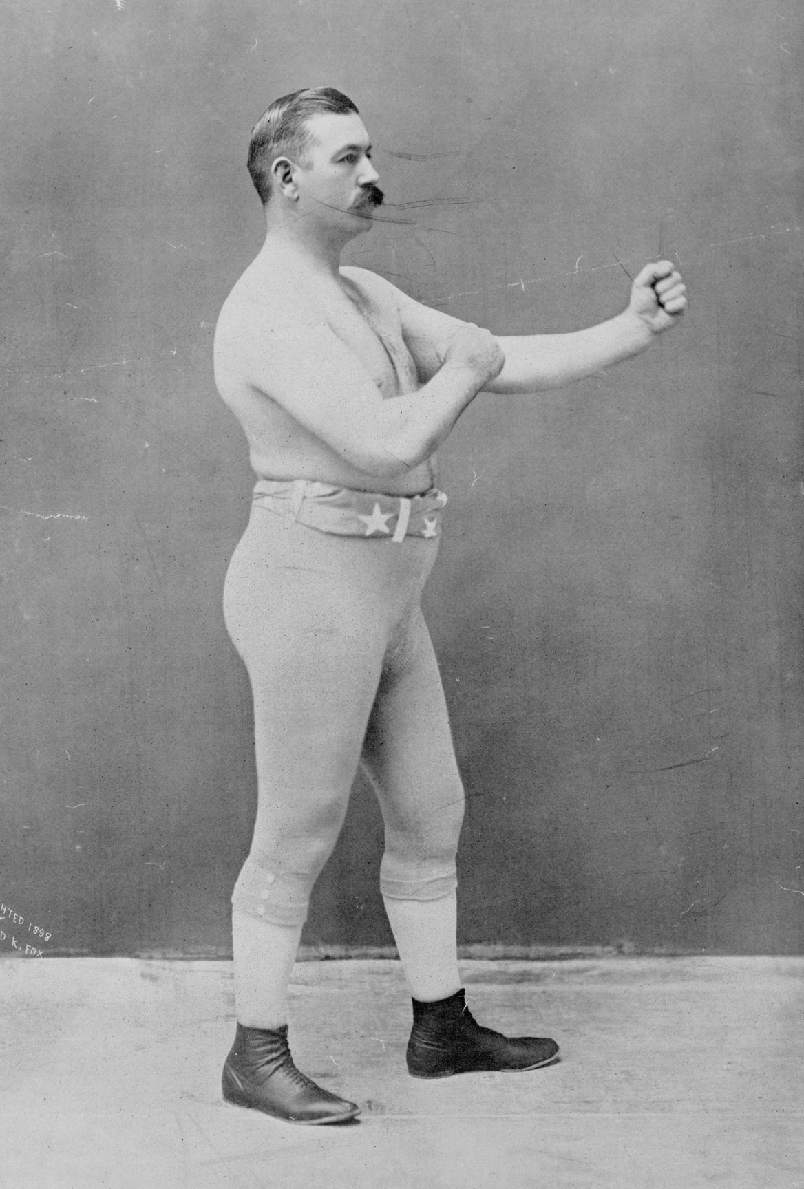 John L. Sullivan, circa 1898.  Courtesy Wikipedia Commons