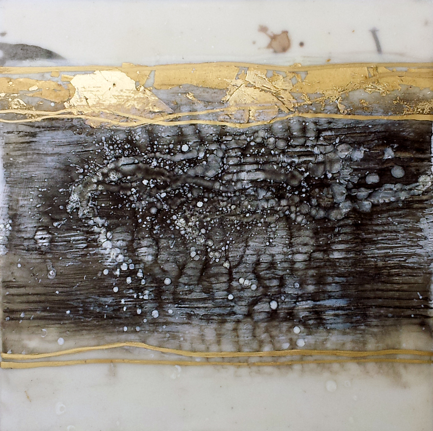 """Untitled    Encaustic on Panel  12"""" x 12""""    SOLD"""
