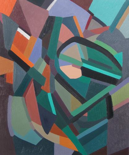 "Chief     Oil on Canvas  25 1/2"" x 21 1/2"" (Framed)"