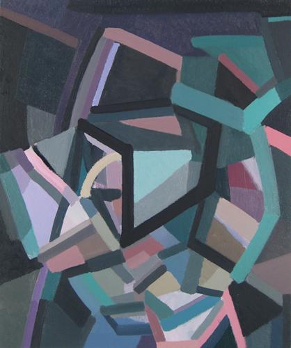 """Intuit     Oil on Canvas  25 1/2"""" x 21 1/2"""" (Framed)"""