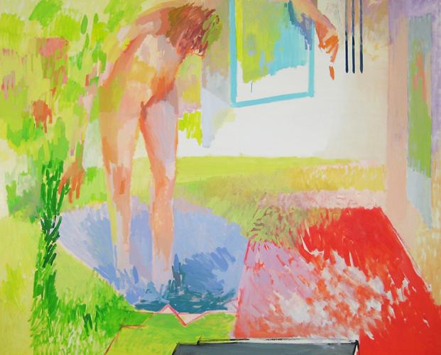 """Suzanna  Oil on Canvas  68 1/2"""" x 86"""""""