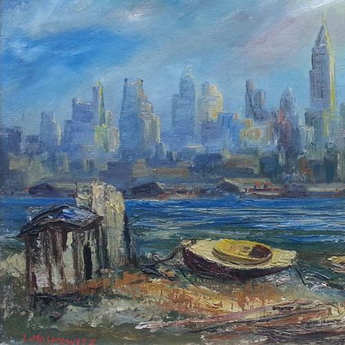 Ira Moskowitz (Polish - American, 1912 - 2001) Available