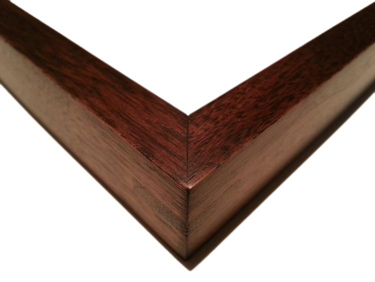 "708 Walnut, Single Wood-Splined Corners    1/2"" (W) FACE x 7/8"" (D) DEEP O.D."