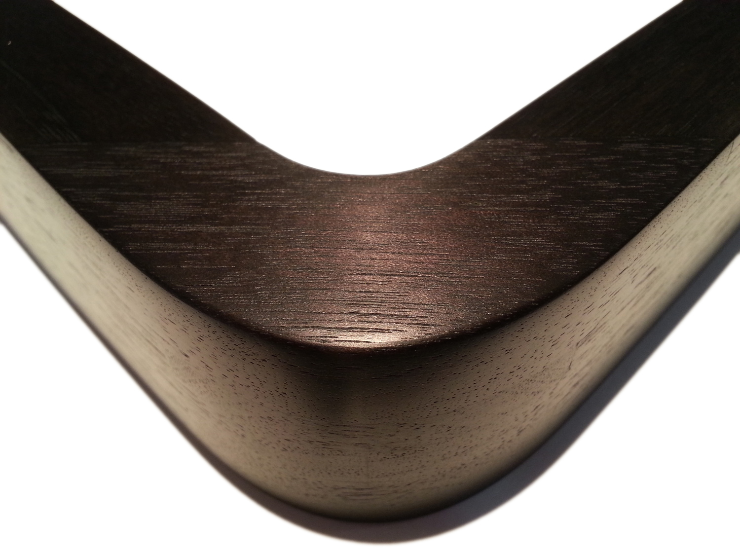"""1134 Walnut, Round In/Out    1"""" (W) FACE x 1 3/4"""" (D) DEEP O.D."""