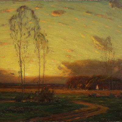 George Inness (American, 1825 -1894) SOLD