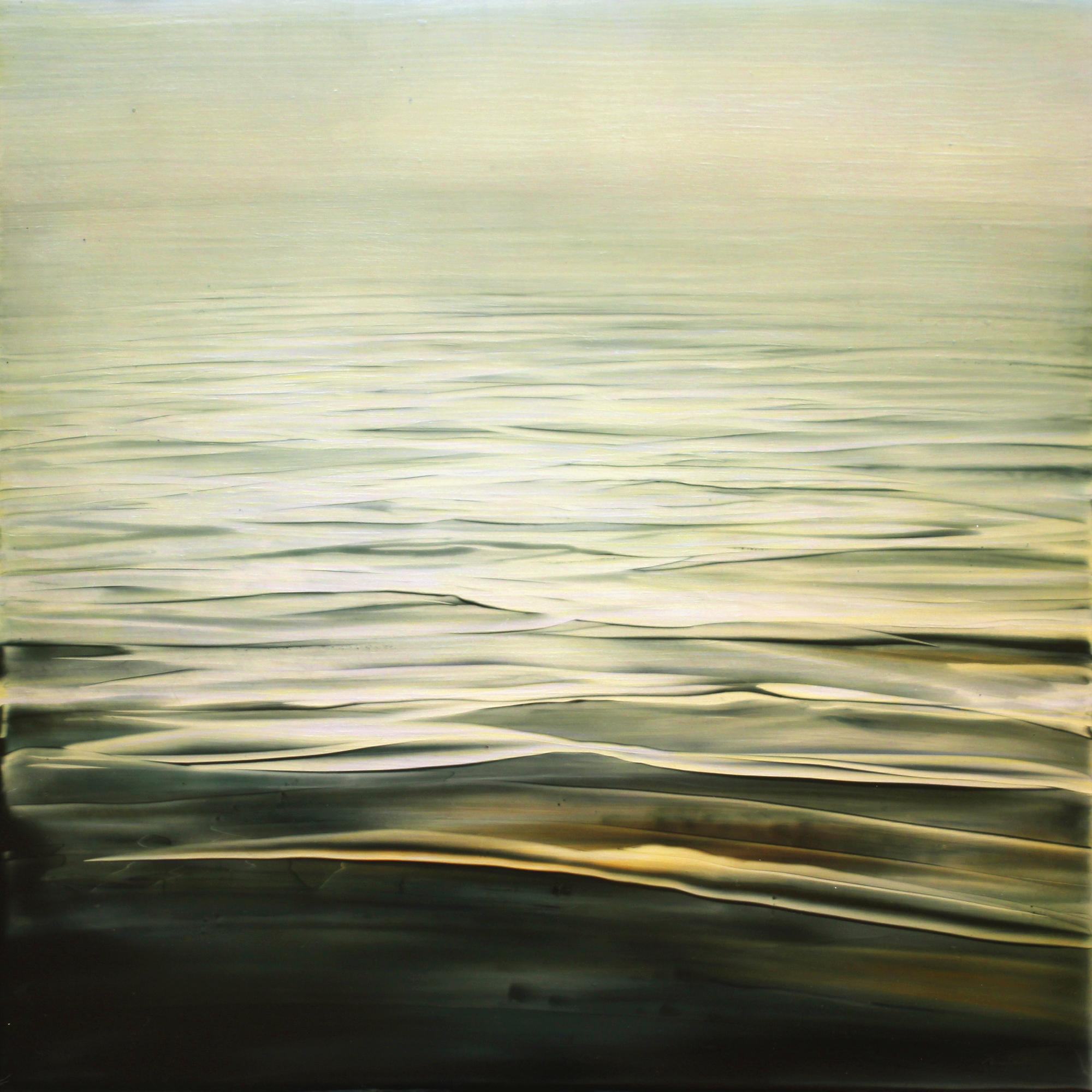 """Brian Sostrom ( American, Idaho )  Gentle Rhythm  Acrylic on Panel  20"""" x 20""""  $1,400"""