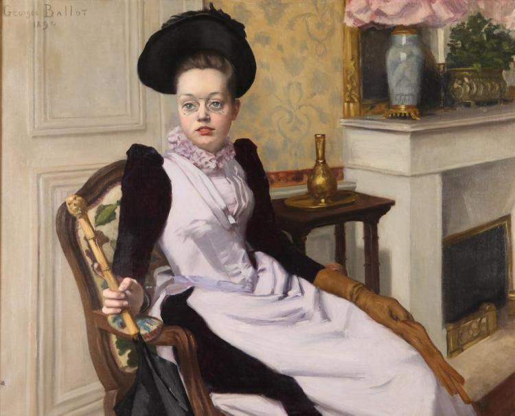 Georges Henri Ballot (French, 1866-1942) La Jeune Fille.jpg