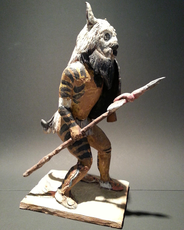 Richard Lichtenstein    Buffalo Dancer    Glazed Ceramic    $250 - 25% = $187.50
