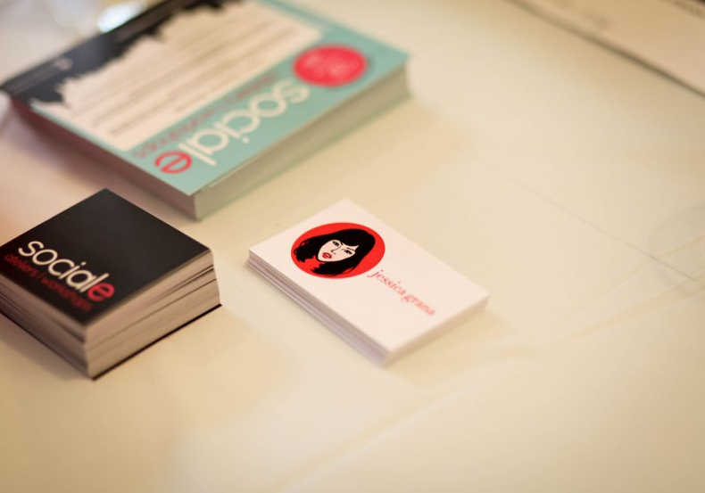 My super awesome business cards were made by  http://pulpandpixel.ca/