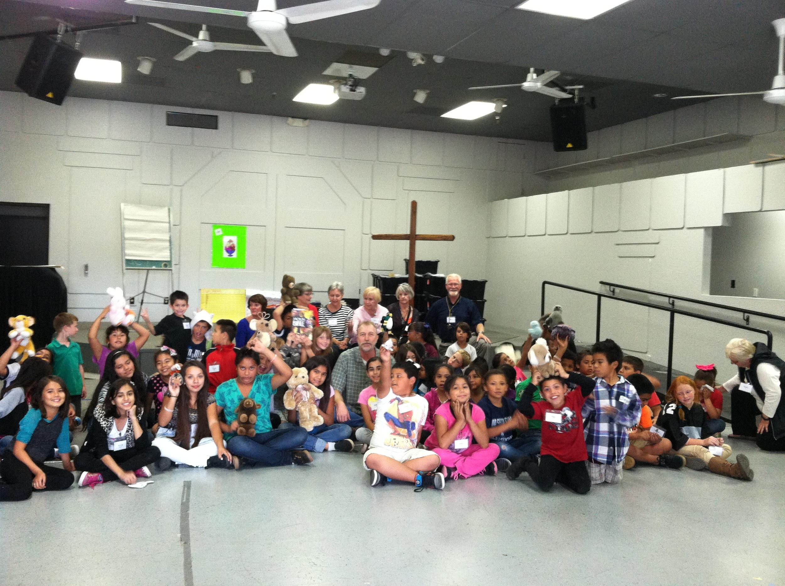 Treasures of Heaven Bible Club - Group Photo - October 2014
