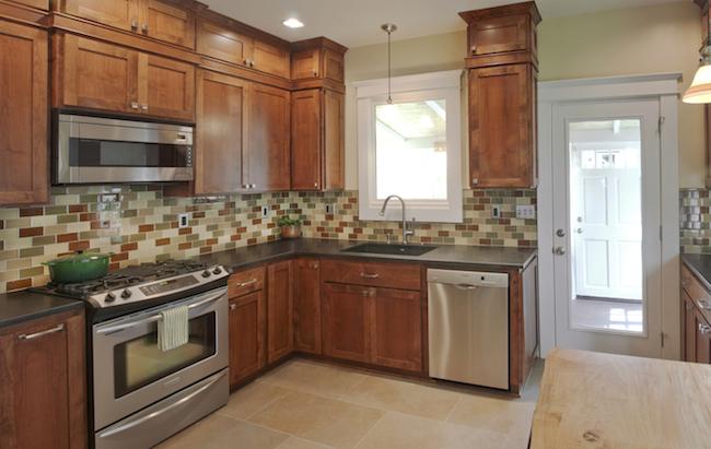 Portland interior designers create vintage kitchen design