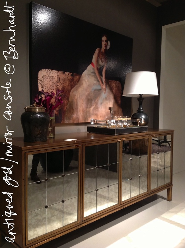 antiqued-gold-console-by Bernhardt