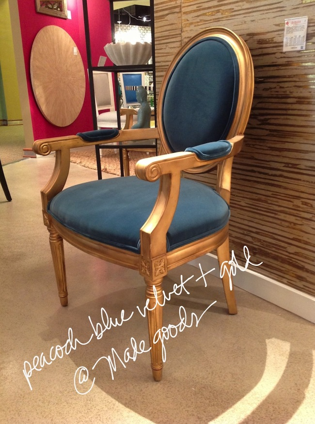 peacock-blue-chair-with-gold-finish