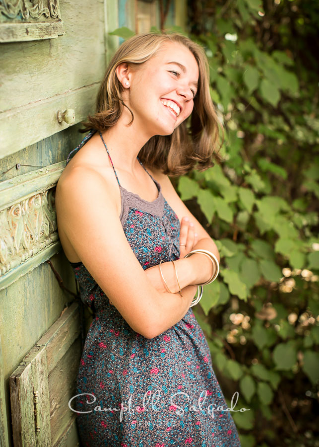 HS Senior Pictures by photographers at Campbell Salgado Studio in Portland, Oregon