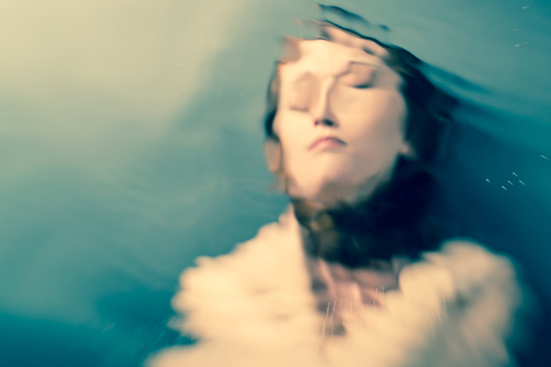 Photographer Kim Campbell, from her fine art series   DEEP in Between