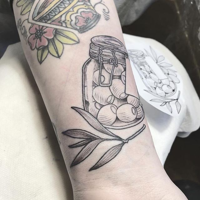 🌱 OLIVE 🌱 Tattoo by Ly Horisoda @horisoda Horisoda@gmail.com 360-694-2663 • • • #ink #blackwork #darkshadeofblack  #flashtattoo #btattooing #blacktartooart #dotworkers #dotwork #flashworkers #darkartists #flashtattoo  #blackworkerssubmission #blackworkers #iblackwork #bkckink #linework #blackworkenthusiast #flashaddicted #ink #tattoopins #blackworknow #blacktattoonow #ttblackink #inkfeature #inkguide #inkonpaper #inkedartgroup #blackinkedart #tattoo #templeoftattoo #ladybondstempleoftattoo