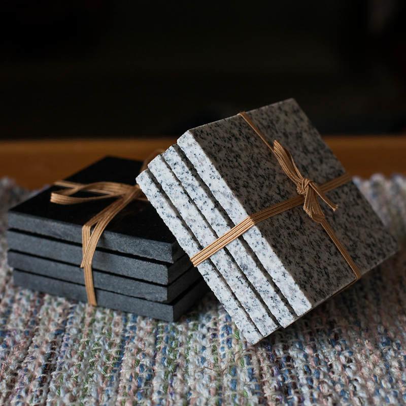 Hand Cut Granite Coasters