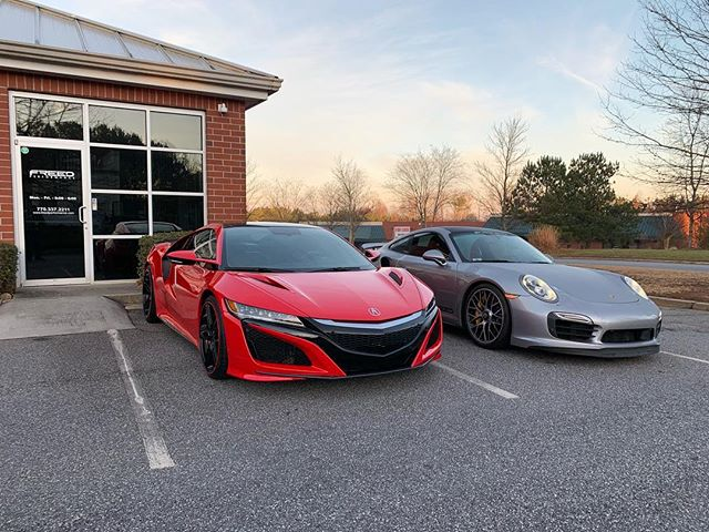 Another case of the Monday's. #nsx #acura #hybrid #supercar #turboS #991 #911 #awd #blacklist #exotic