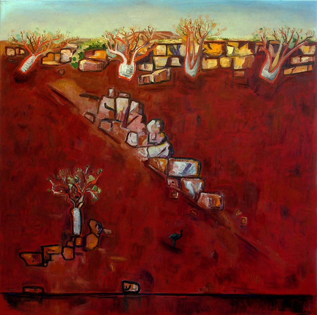 Lonesome Emu, Kunununurra