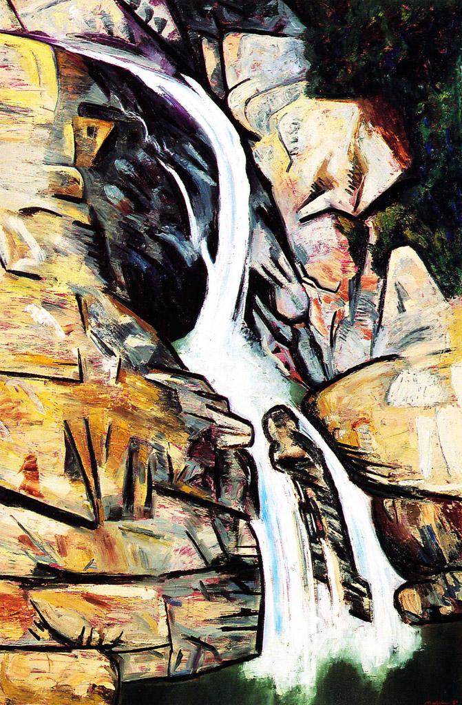 The Currumbin Falls