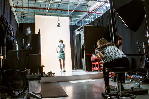 Inside Amazon's Brooklyn photo studio. Image by Driely S. for Racked
