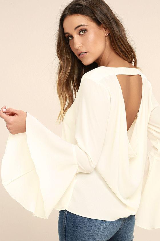 Bell-Sleeved Top - Lulus, $44