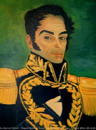 If only you saw his back dimples. Swoon.  Portrait de Simon Bolivar  by Renaud Camus/ cc