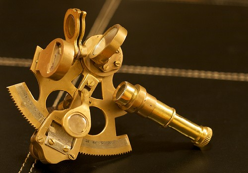 A semi.   Sextant  by Michael Carpentier/ cc