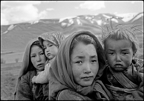 """Too young to understand the difficulties of the immortal question """"Are We Officially Dating?""""  Hazara Children  by Balazs Gardi/ cc"""