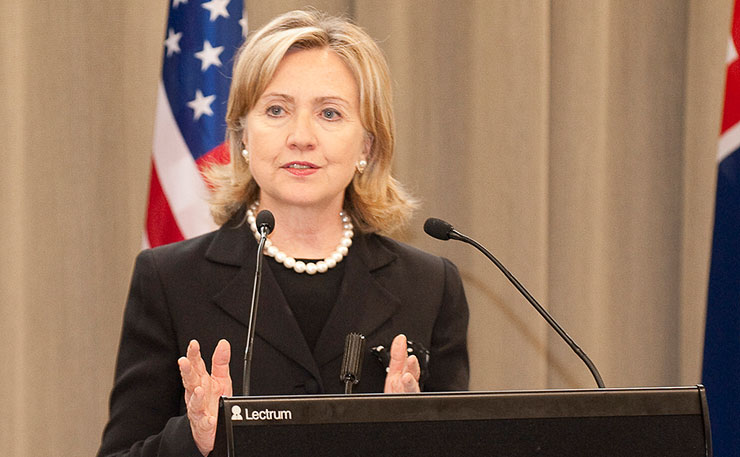 US Presidential Democratic candidate Hillary Clinton. (Image: US Embassy, Flickr)