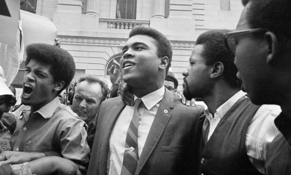 AP Photo of Ali in 1967,  The Nation .
